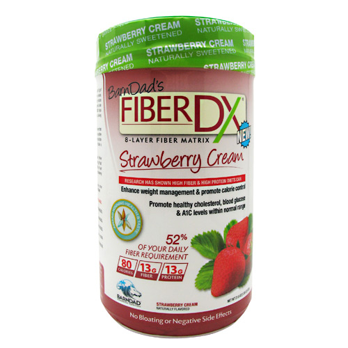 BarnDad Innovative Nutrition Fiber DX - Strawberry Cream - 20 ea