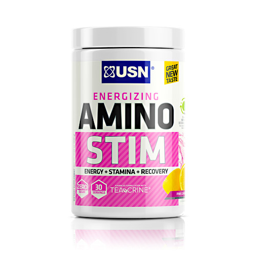 Ultimate Sports Nutrition Cutting Edge Series Amino Stim - Pink Lemonade - 30 ea