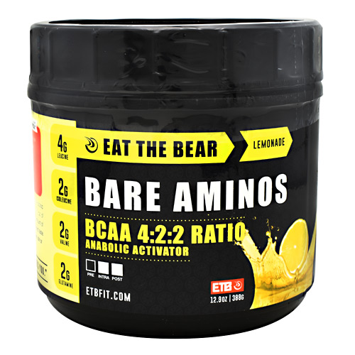 Eat The Bear Bare Aminos - Lemonade - 12.9 oz