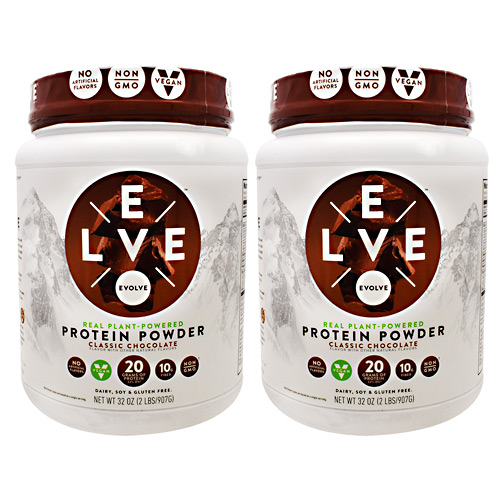 Evolve Protein Powder - Classic Chocolate - 2 ea