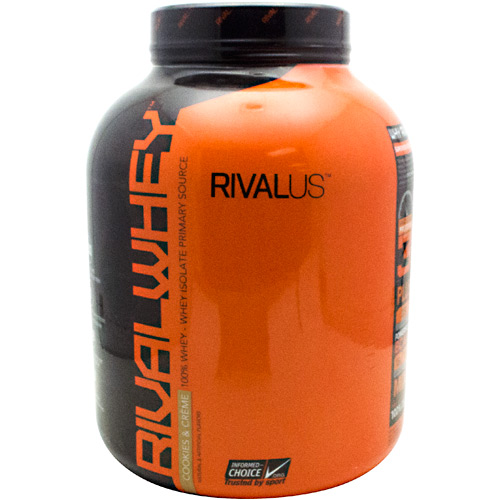 Rivalus Rival Whey - Cookies & Creme - 5 lbs