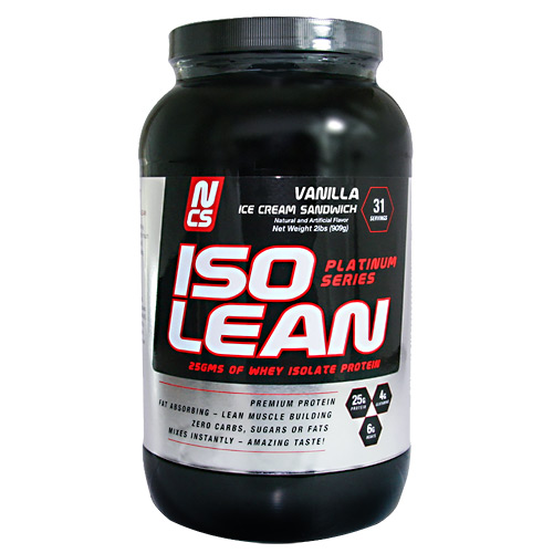 NCS Labs Whey Lean - Vanilla Cake - 2 lb