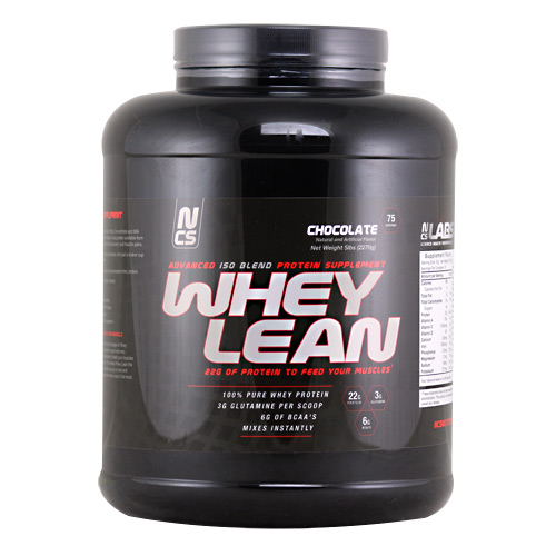 NCS Labs Whey Lean - Chocolate - 5 lb