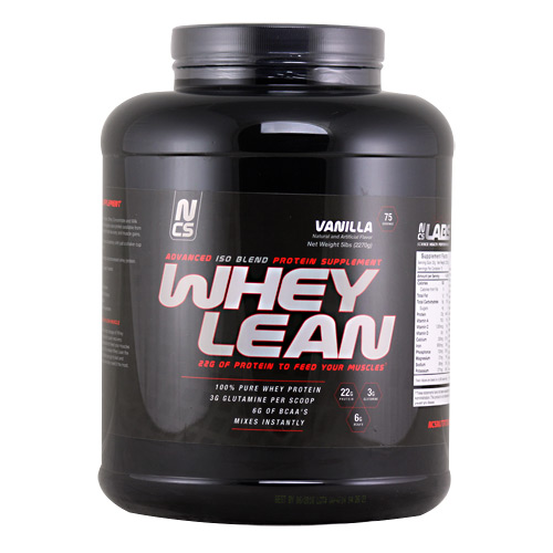 NCS Labs Whey Lean - Vanilla Cake - 5 lb
