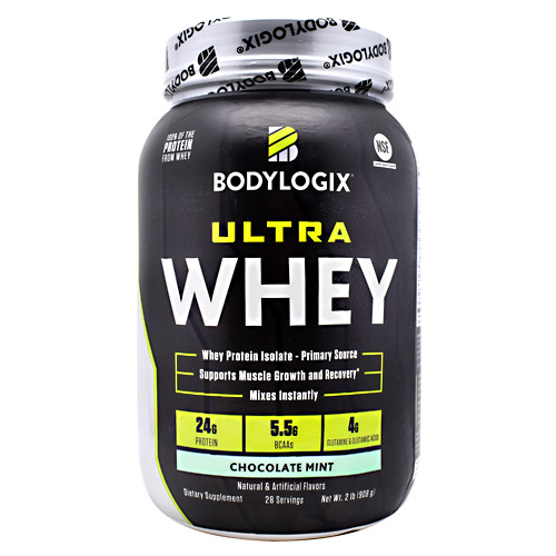 BodyLogix Ultra Whey Protein - Chocolate Mint - 2 lbs