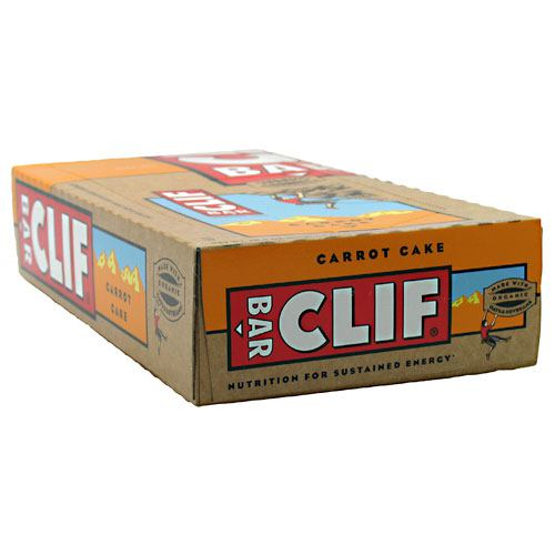 Clif Bar Energy Bar - Carrot Cake - 12 ea