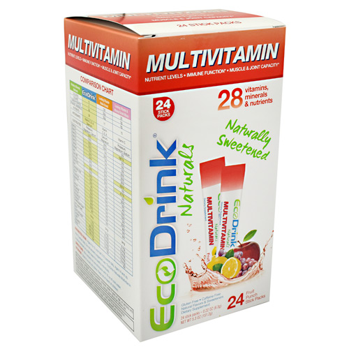 Lily of the Desert EcoDrink - Fruit Punch - 24 ea