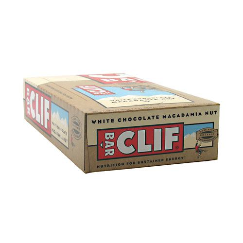 Clif Bar Energy Bar - White Chocolate Macadamia Nut - 12 ea