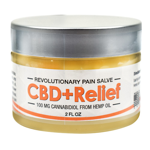 Axis Labs CBD+Relief - 2 fl oz