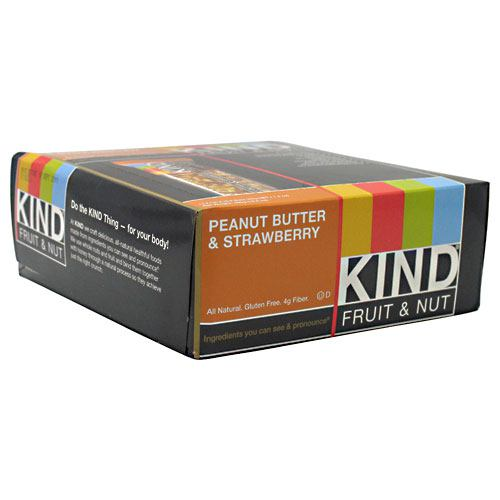 Kind Snacks Kind Fruit & Nut - Peanut Butter & Strawberry - 12 ea