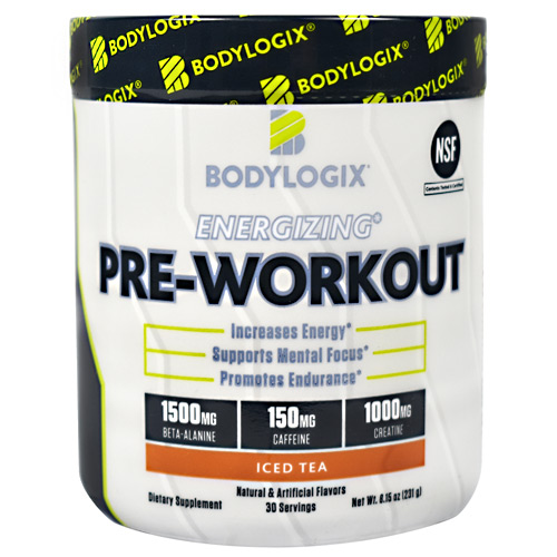 BodyLogix Energizing Pre-Workout - Iced Tea - 30 ea