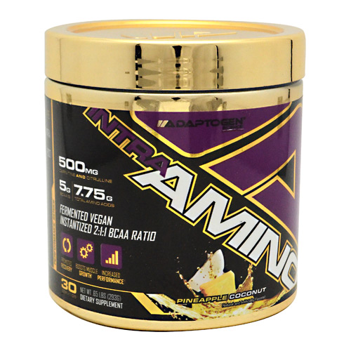 Adaptogen Science Intra Amino - Pineapple Coconut - 30 ea