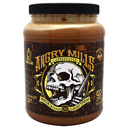 Sinister Labs Caffeinated Angry Mills Almond Spread - Chocolate Chaos - 75 oz
