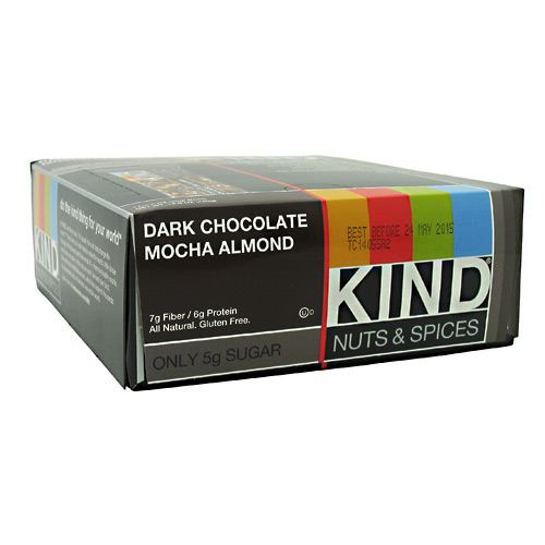 Kind Snacks Kind Nuts & Spices - Dark Chocolate Mocha Almond - 12 ea