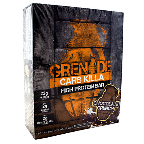Grenade Carb Killa - Chocolate Crunch - 12 ea