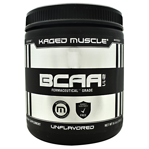 Kaged Muscle BCAA 2:1:1 - Unflavored - 36 ea