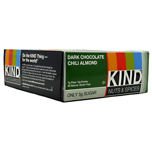 Kind Snacks Kind Nuts & Spices - Dark Chocolate Chili Almond - 12 ea
