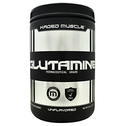 Kaged Muscle Glutamine - Unflavored - 60 ea
