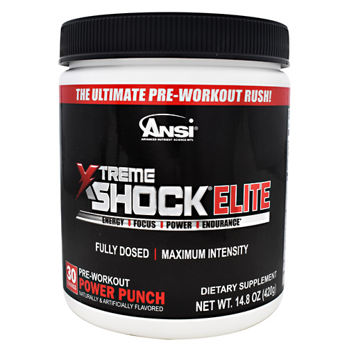 ANSI Xtreme Shock Elite - Power Punch - 30 ea