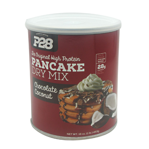 P28 Foods The Original High Protein Pancake Dry Mix - Chocolate Coconut - 16 oz