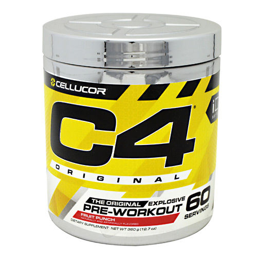 Cellucor iD Series C4 - Fruit Punch - 60 ea