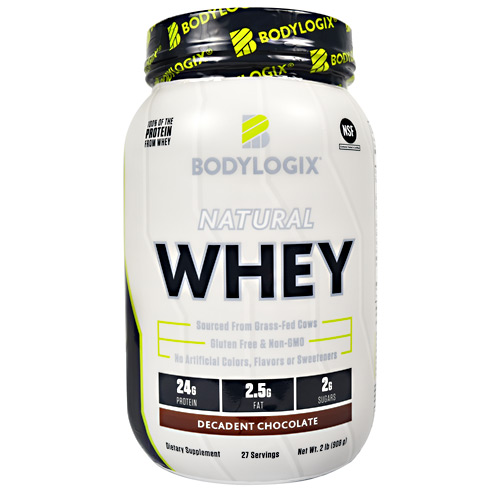 BodyLogix Natural Whey - Decadent Chocolate - 2 lb