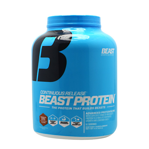 Beast Sports Nutrition Beast Protein - Chocolate Peanut Butter - 4 lb