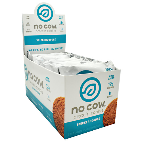 Ds Naturals No Cow Protein Cookie - Snickerdoodle - 12 ea