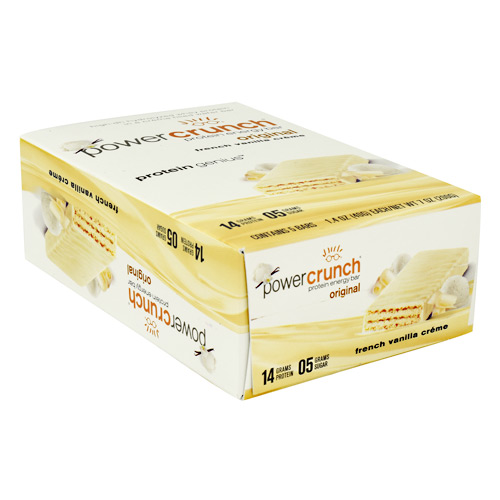 Power Crunch Power Crunch - French Vanilla Creme - 5 ea