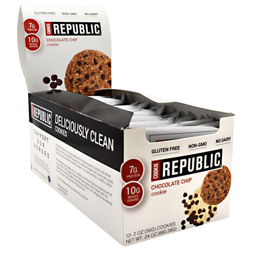 Cookie Republic Cookie Republic - Chocolate Chip - 12 ea