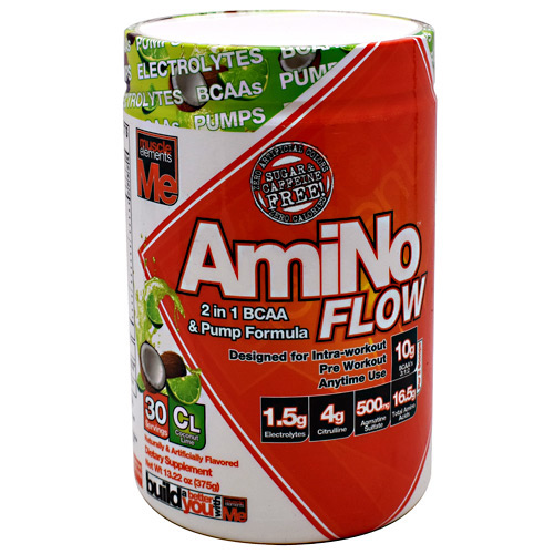 Muscle Elements AmiNo Flow - Coconut Lime - 30 ea
