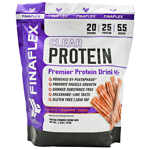 Finaflex Clear Protein - Frosted Cinnamon Churro - 20 ea