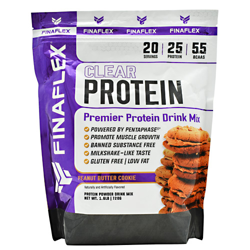 Finaflex Clear Protein - Peanut Butter Cookie - 20 ea
