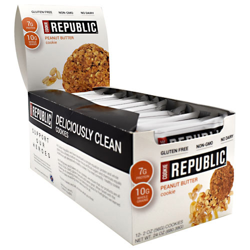 Cookie Republic Cookie Republic - Peanut Butter Cookie - 12 ea