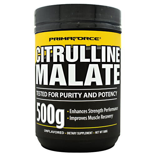 Primaforce Citrulline Malate - Unflavored - 250 ea