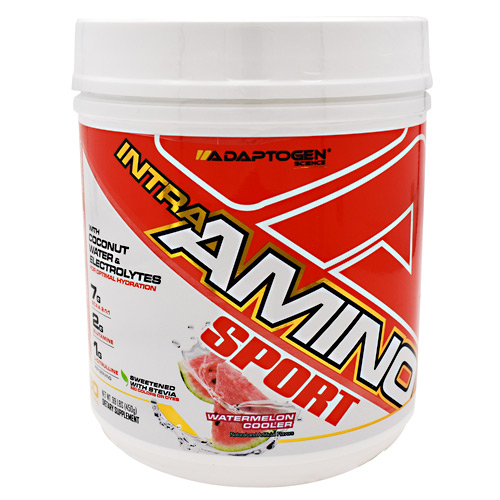 Adaptogen Science Intra-Amino Sport - Watermelon Cooler - 30 ea