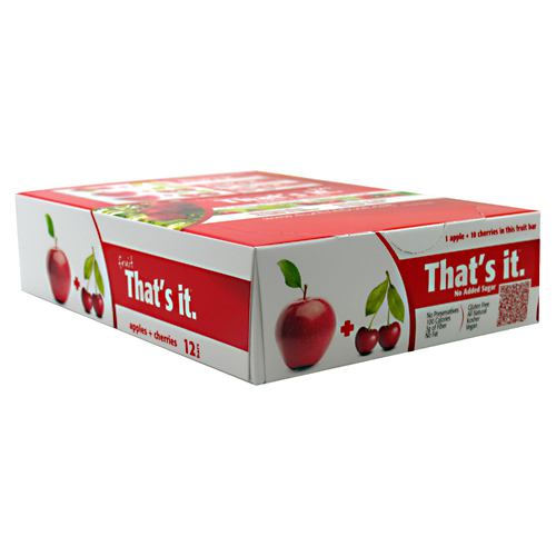 Thats It Nutrition Thats it Bar - Apple + Cherry - 12 ea