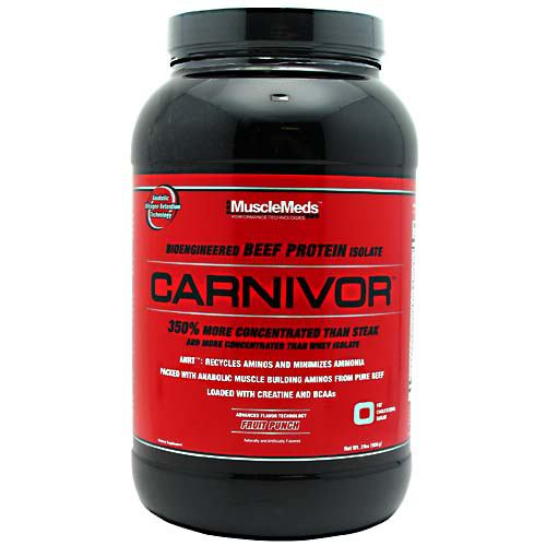 Muscle Meds Carnivor - Fruit Punch - 2 lb