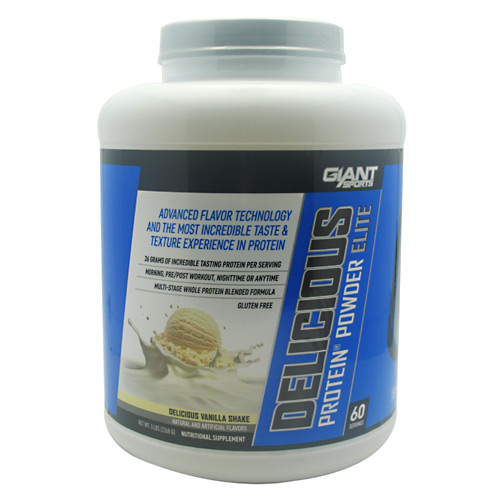 Giant Sports Products Delicious Protein - Delicious Vanilla Shake - 5 lb