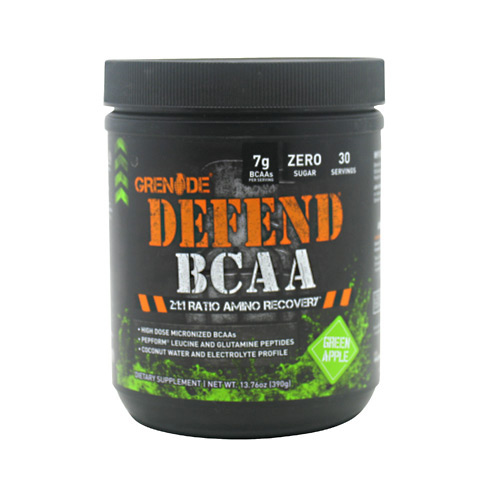 Grenade Defend BCAA - Green Apple - 13.76 oz