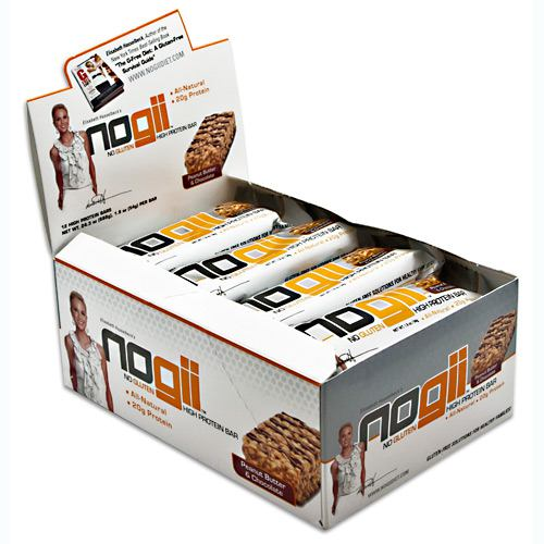 NoGii NoGii High Protein Bar - Peanut Butter & Chocolate - 12 ea