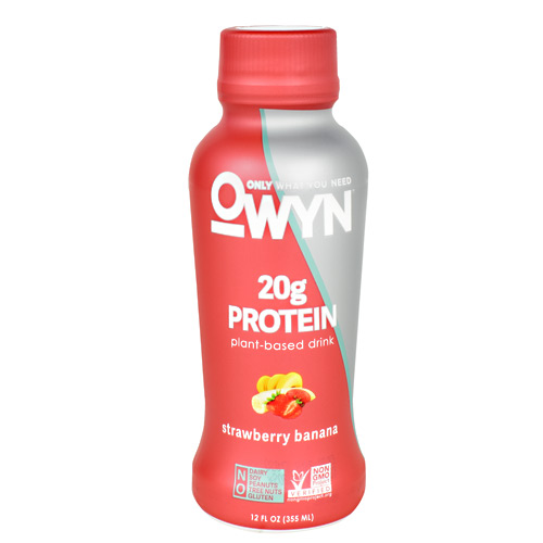 Only What You Need Protein Drink - Strawberry Banana - 12 ea