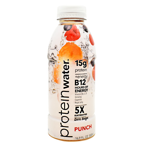 Probalance Inc Protein Water - Punch - 16 ea
