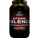 M4 Nutrition Intense Blend Protein 3lb - Banana