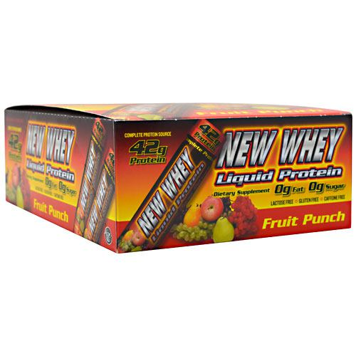New Whey Nutrition New Whey Liquid Protein - Fruit Punch - 12 ea