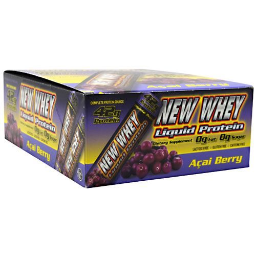 New Whey Nutrition New Whey Liquid Protein - Acai Berry - 12 ea