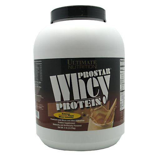 Ultimate Nutrition ProStar Whey Protein - Chocolate - 5 lb