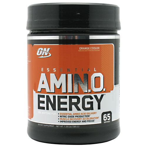 Optimum Nutrition Essential Amino Energy - Orange Cooler - 65 ea