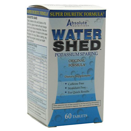 Absolute Nutrition Water Shed - 60 ea
