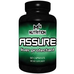 M4 Nutrition Assure - 60 caps - Liver Protectant and Support